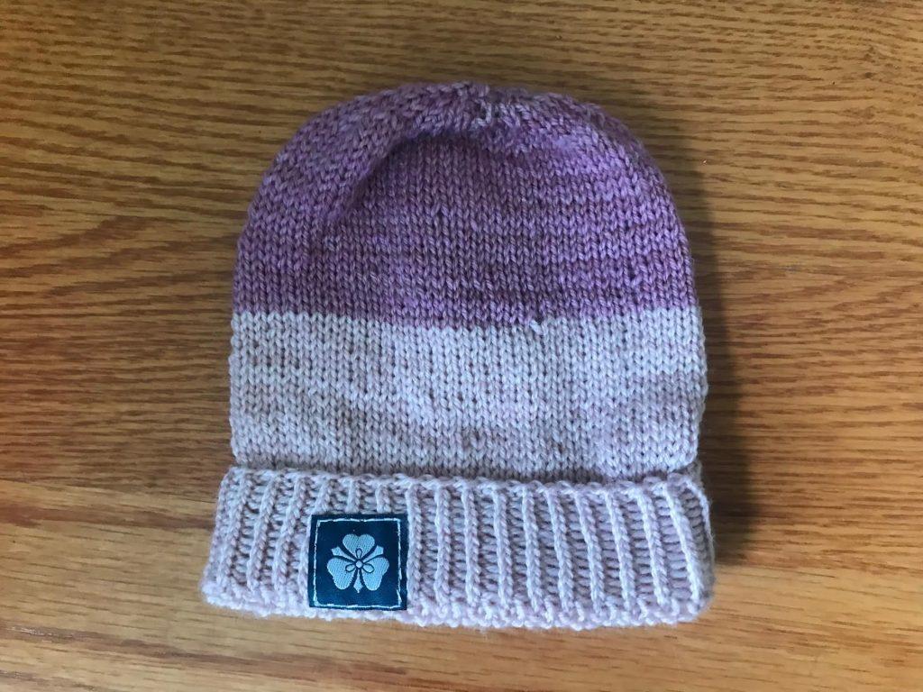 2 tone pink hat