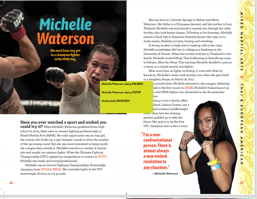 Changing the Game Asian Pacific American Female Athletes Mia Wenjen Michelle Waterson