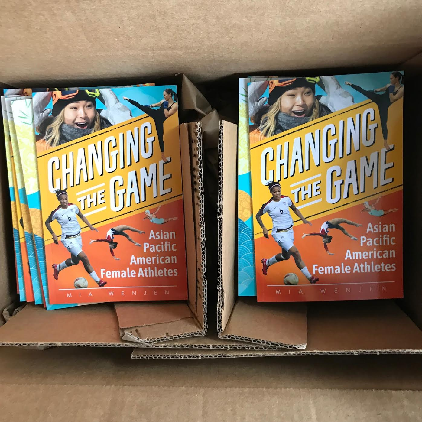 Changing the Game Mia Wenjen books have arrived